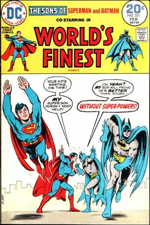 World's Finest Comics 221-A
