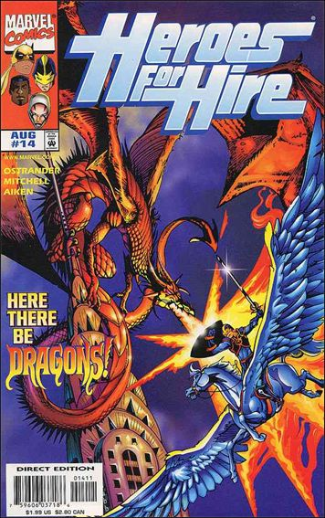 Heroes for Hire (1997) 14-A by Marvel