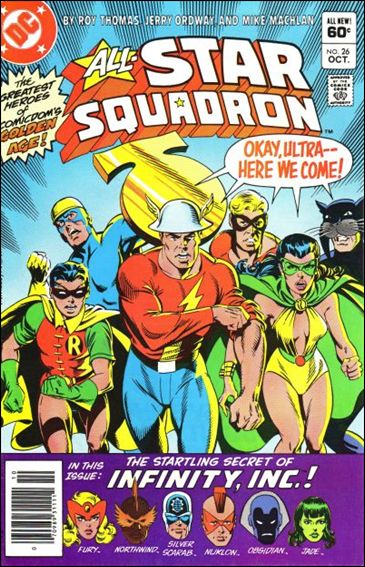 All-Star Squadron 26-A by DC