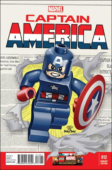 Captain America (2013) 12-B by Marvel