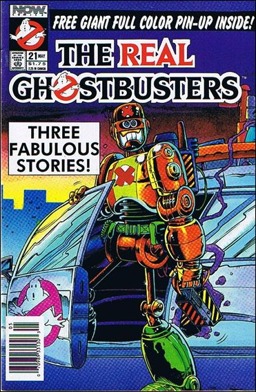 Real Ghostbusters (1988) 21-A by Now Comics