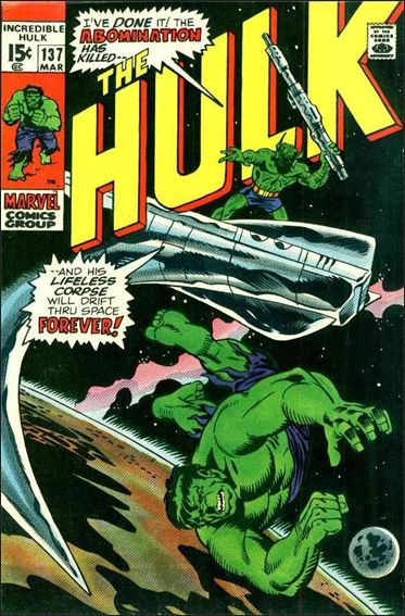 Incredible Hulk (1968) 137-A by Marvel