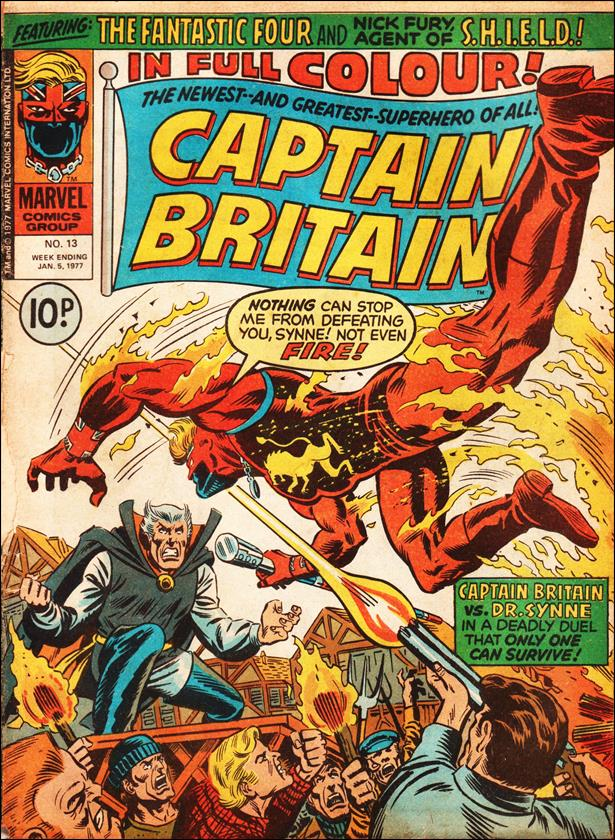 Captain Britain (UK) (1976) 13-A by Marvel UK