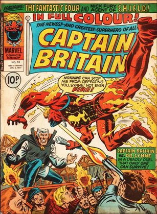 Captain Britain (UK) (1976) 13-A