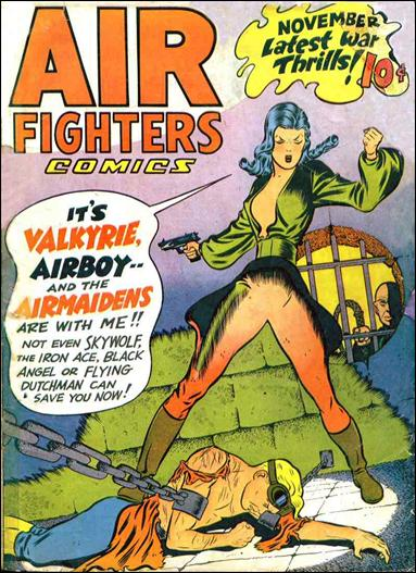 Air Fighters Comics (1943) 2-A by Hillman