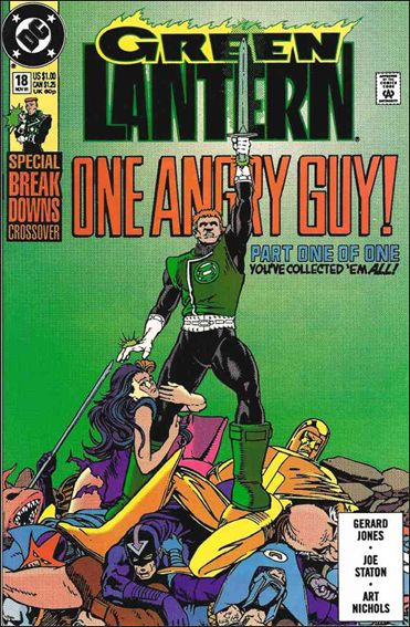 Green Lantern (1990) 18-A by DC