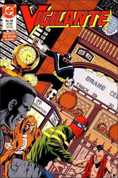 Vigilante (1983) 49-A by DC