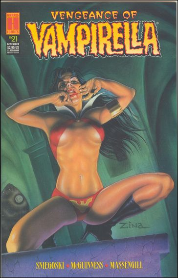 Vengeance of Vampirella 21-A by Harris