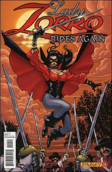 Zorro Rides Again 10-A by Dynamite Entertainment