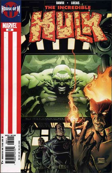 Incredible Hulk (2000)  84-A by Marvel