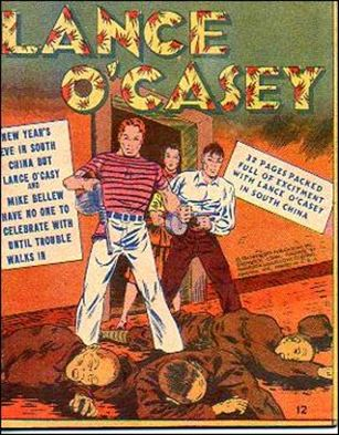 Mighty Midget Comics - Lance O'Casey 12-A