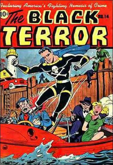 Black Terror (1942) 14-A by Nedor