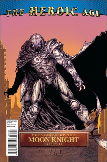 Vengeance of the Moon Knight 8-B by Marvel