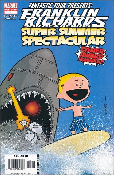 Franklin Richards: Super Summer Spectacular 1-A by Marvel