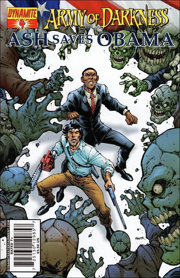 Army of Darkness: Ash Saves Obama 4-A by Dynamite Entertainment