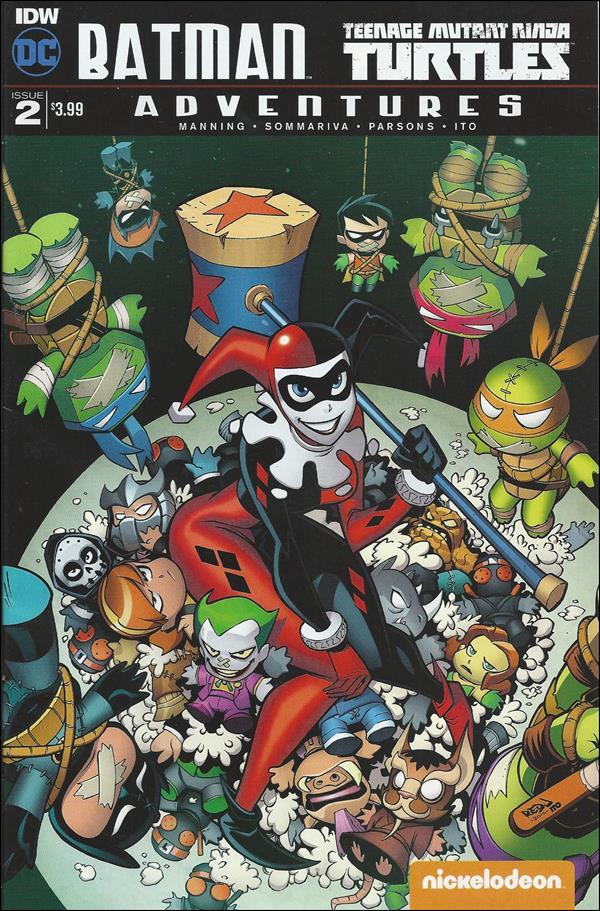 Batman/Teenage Mutant Ninja Turtles Adventures 2-A by IDW