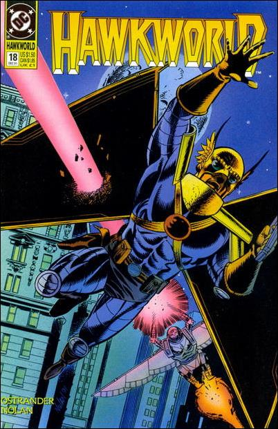Hawkworld (1990) 18-A by DC