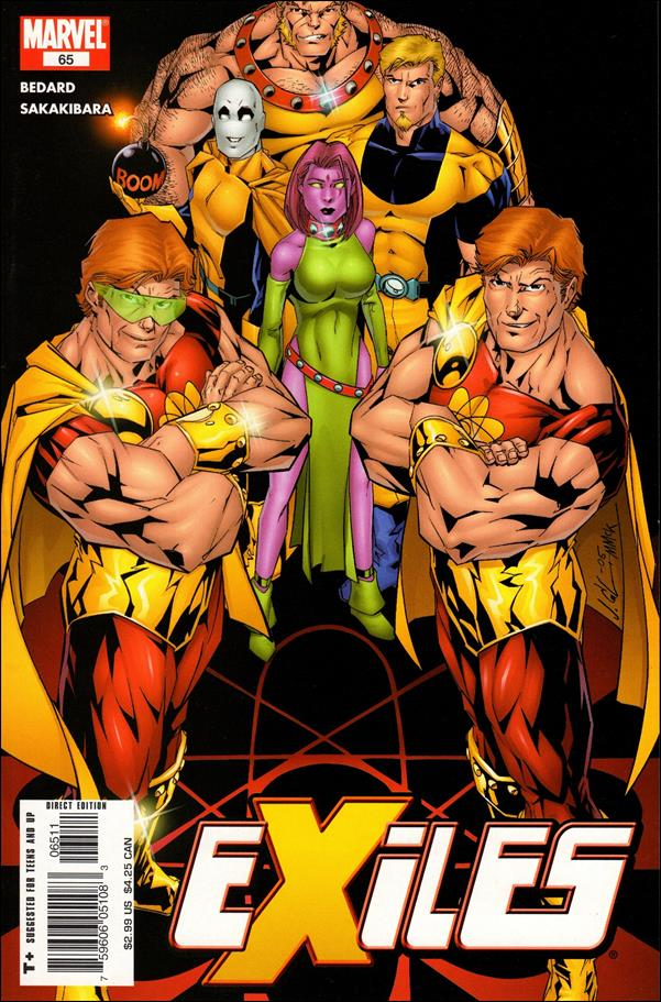 Exiles (2001) 65-A by Marvel