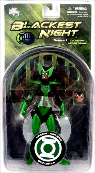 Blackest Night (Series 1) Alpha Lantern Boodikka by DC Direct