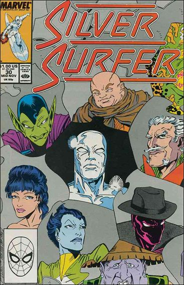 Silver Surfer (1987) 30-A by Marvel
