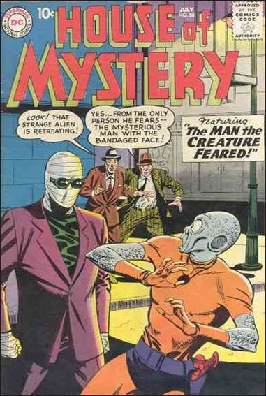 House of Mystery (1951) 88-A by DC