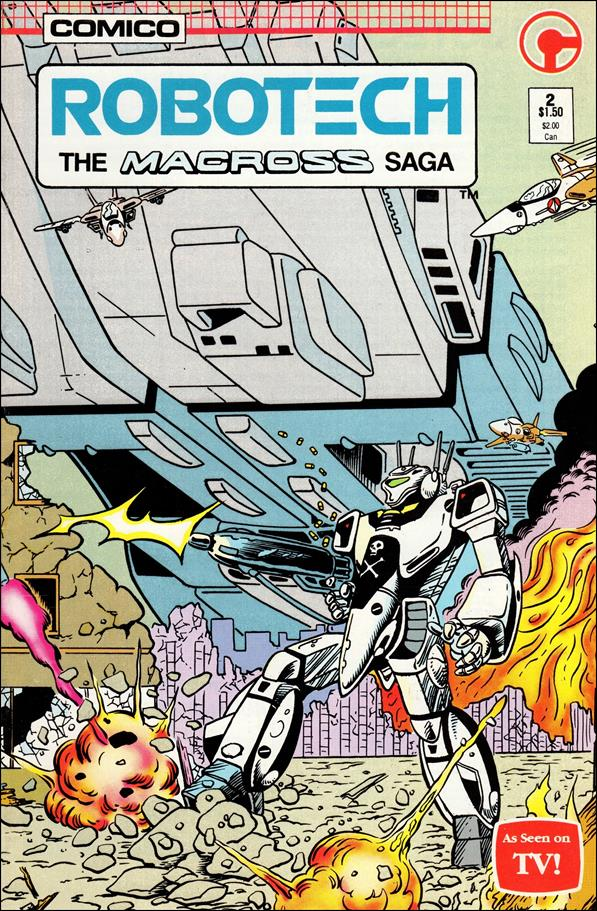 Robotech: The Macross Saga 2-A by Comico
