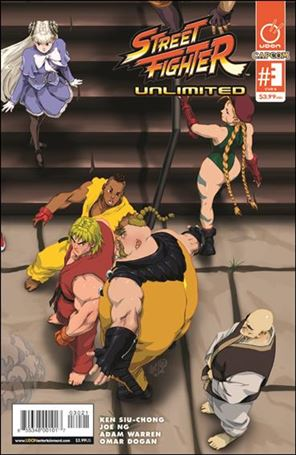 Street Fighter Unlimited 3-B
