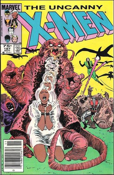 Uncanny X-Men (1981) 187-B by Marvel