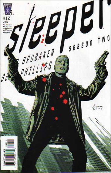 Sleeper: Season Two 12-A by WildStorm