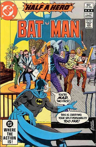 Batman (1940) 346-A by DC