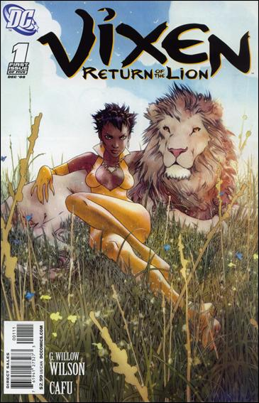 Vixen: Return of the Lion 1-A by DC
