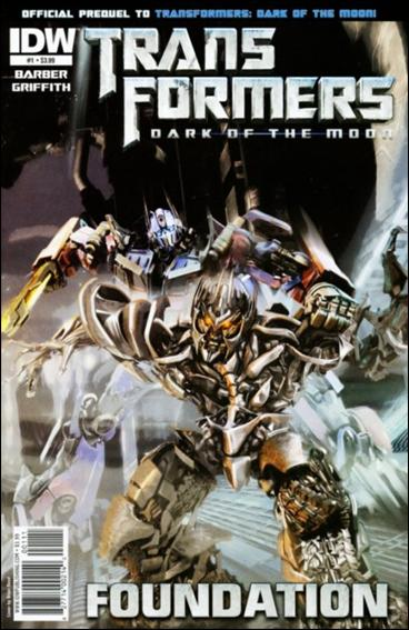 Transformers: Foundation 1-A by IDW