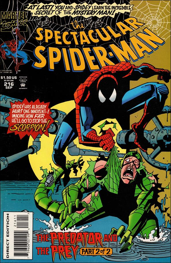 Spectacular Spider-Man (1976) 216-A by Marvel
