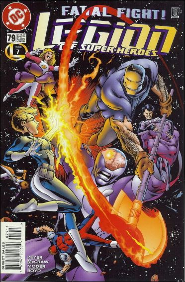 Legion of Super-Heroes (1989) 79-A by DC
