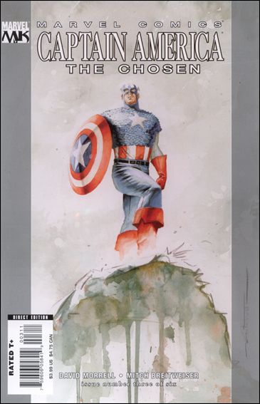 Captain America: The Chosen 3-A by Marvel
