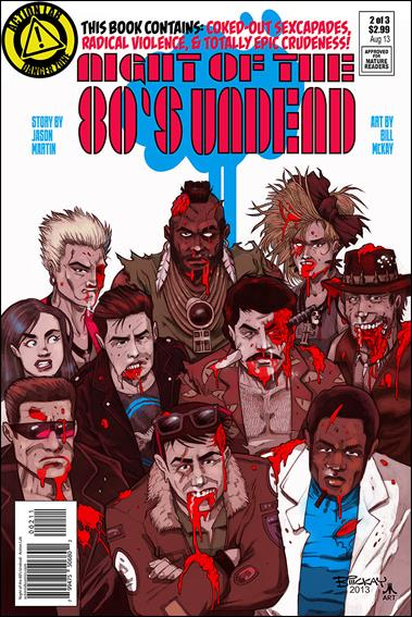 Night of the 80's Undead 2-A by Action Lab: Danger Zone