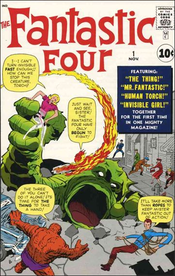 Fantastic Four (1961) 1-A by Marvel