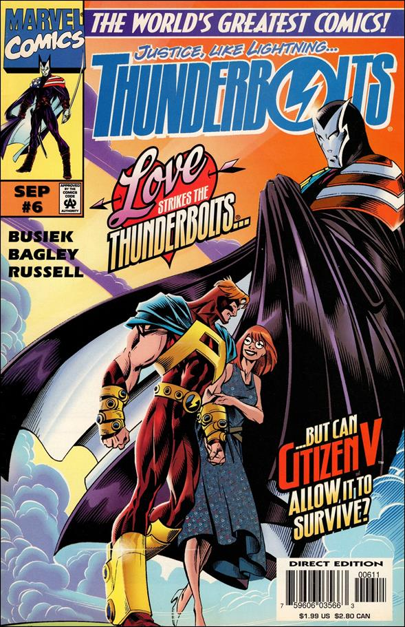 Thunderbolts (1997) 6-A by Marvel