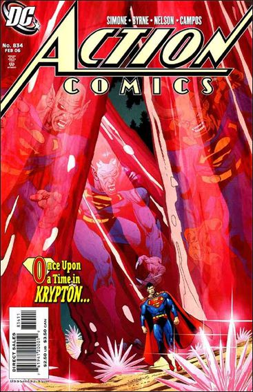 Action Comics (1938) 834-A by DC