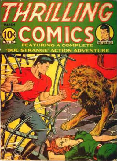 Thrilling Comics (1940) 14-A by Standard