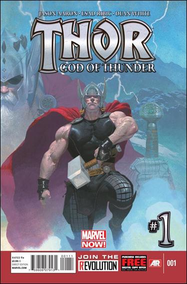 Thor: God of Thunder 1-A by Marvel
