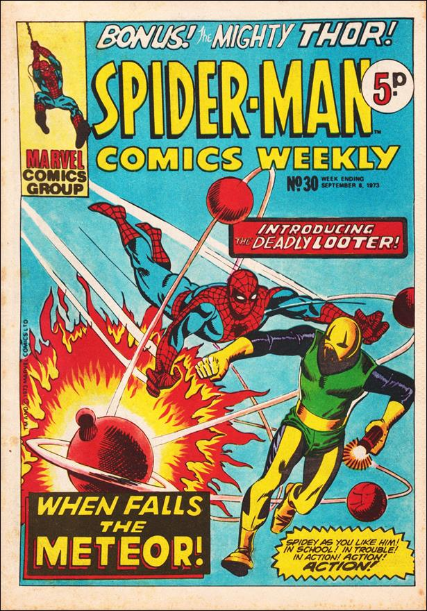 Spider-Man: Comics Weekly (UK) 30-A by Marvel UK