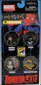 Marvel Minimates (Box Sets) Thunderbolts 4-Pack (2009 SDCC & AFX Exclusive) by Diamond Select