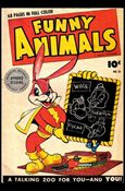 Fawcett's Funny Animals 10-A