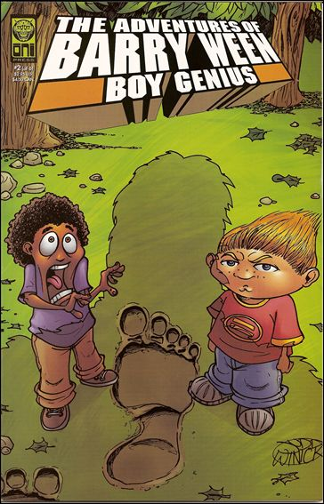 Adventures of Barry Ween, Boy Genius 3: Monkey Tales 2-A by Oni Press