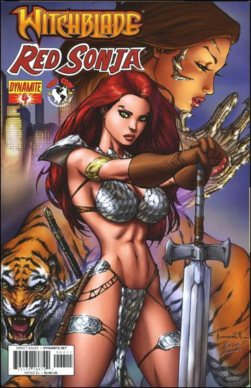 Witchblade/Red Sonja 4-A by Dynamite Entertainment