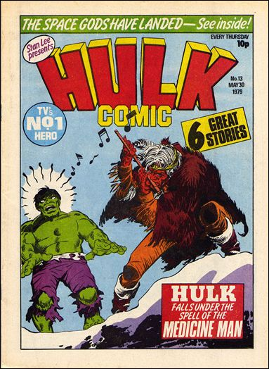 Hulk Comic (UK) 13-A by Marvel UK