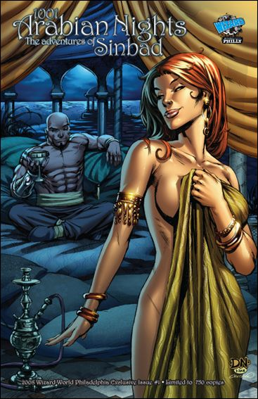 1001 Arabian Nights: The Adventures of Sinbad 1-D by Zenescope Entertainment