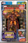 Marvel Legends (Series 8) Modern Armor Iron Man (Yellow Torso) (Canada)