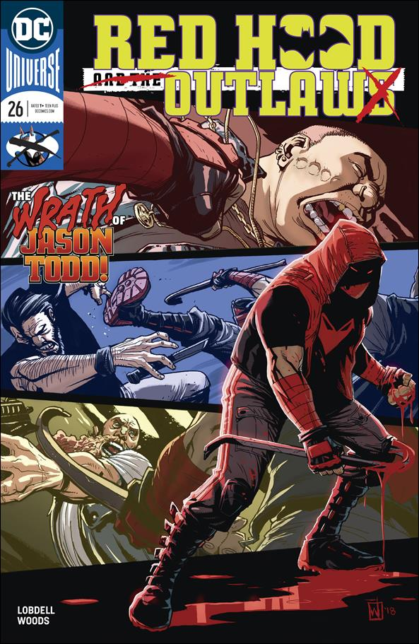 Red Hood and the Outlaws (2016) 26-A by DC